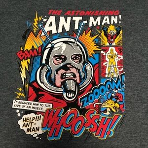 ANT MAN Marvel Women's XL Tee